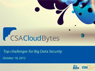 Top Challenges for Big Data Security